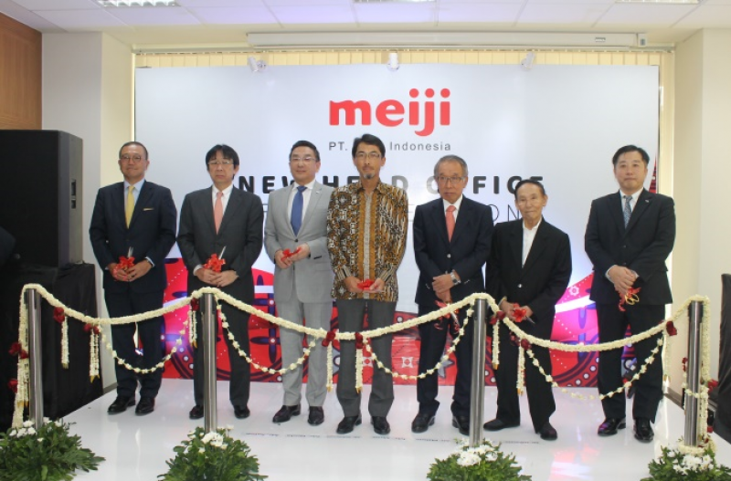 OFFICIAL OPENING OF NEW OFFICE BUILDING PT. MEIJI INDONESIA